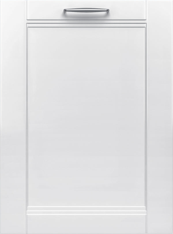 "Bosch - 300 Series 24"" Custom Panel Dishwasher with Stainless Steel Tub - Custom Panel Ready"
