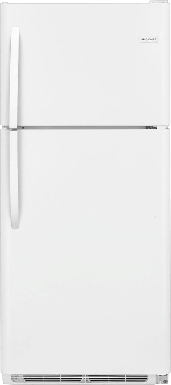Frigidaire - 20.4 Cu. Ft. Top-Freezer Refrigerator - White