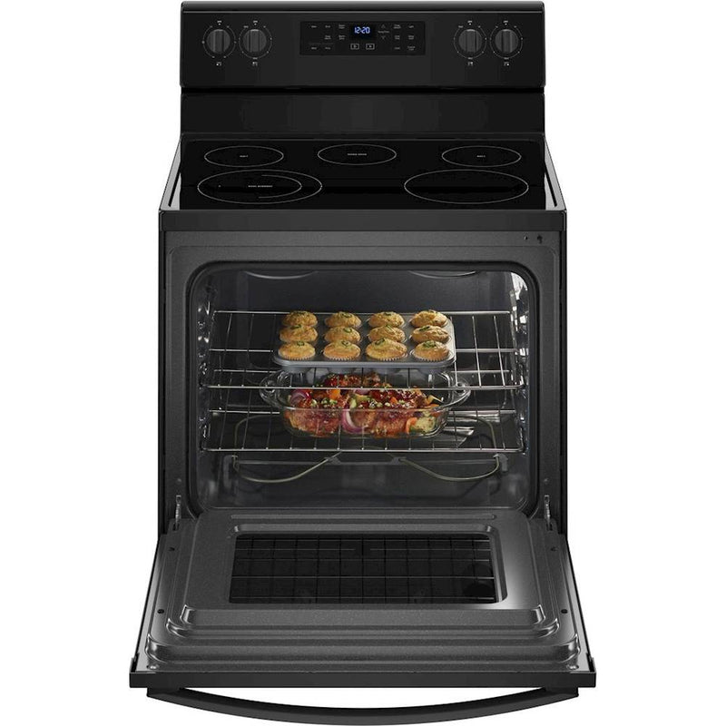 Whirlpool - 5.3 Cu. Ft. Freestanding Electric Range - Black