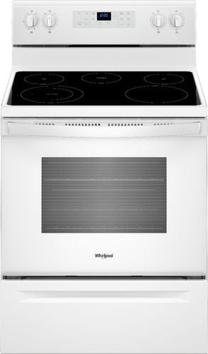Whirlpool - 5.3 Cu. Ft. Freestanding Electric Range - White