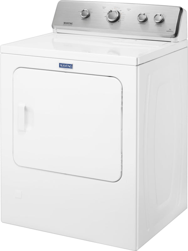 Maytag - 7 Cu. Ft. 12-Cycle Gas Dryer - White