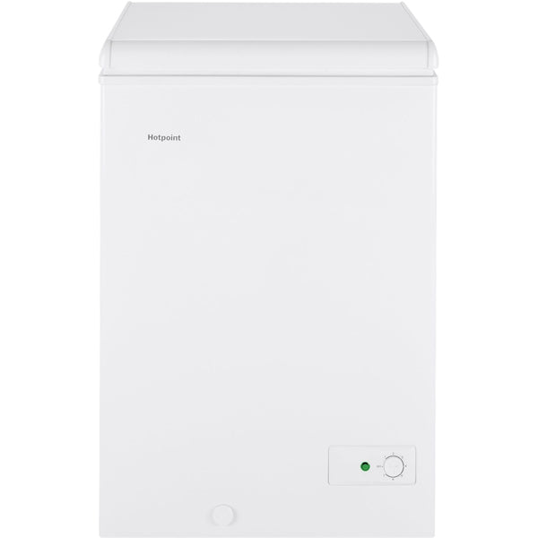 Hotpoint - 3.6 Cu. Ft. Chest Freezer - White