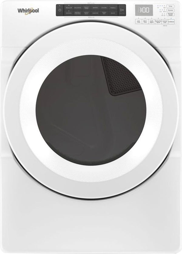 Whirlpool - 7.4 Cu. Ft. 36-Cycle Electric Dryer - White