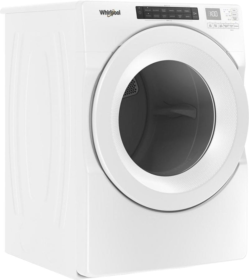 Whirlpool - 7.4 Cu. Ft. 36-Cycle Gas Dryer - White