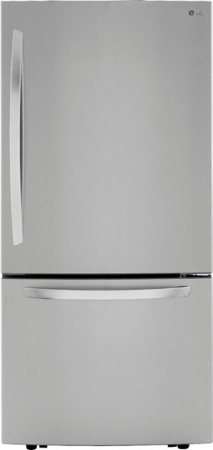 LG - 26 Cu. Ft. Bottom-Freezer Refrigerator with Ice Maker - PrintProof Stainless Steel