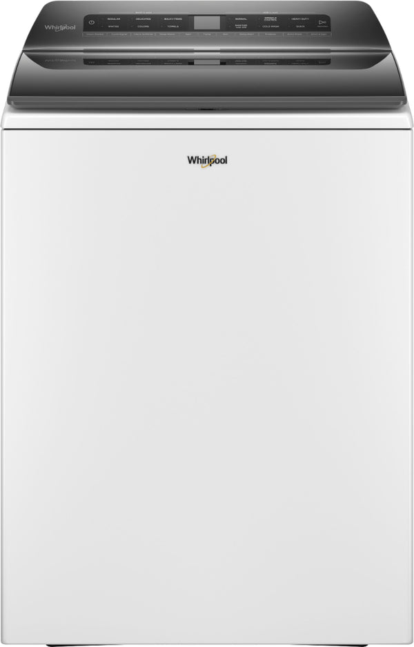 Whirlpool - 4.7 Cu. Ft. 36-Cycle Top-Load Washer with Pretreat Station - White