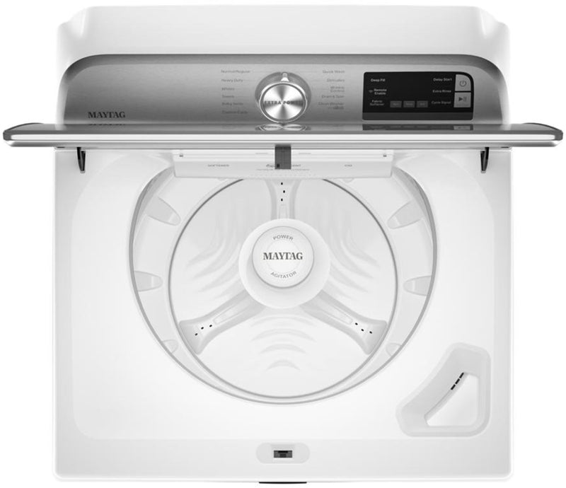 Maytag - 4.7 Cu. Ft. 11-Cycle Top-Load Washer with Extra Power Button - White