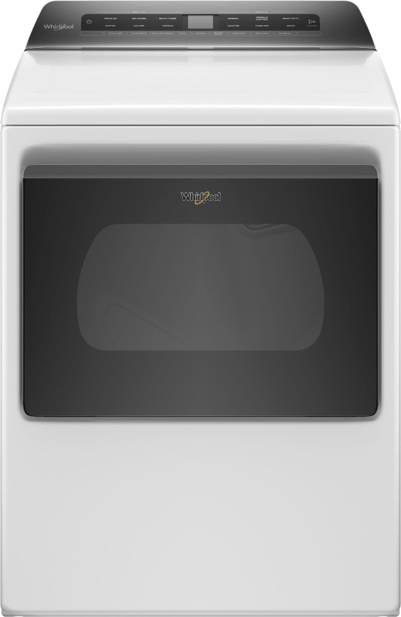 Whirlpool - 7.4 Cu. Ft. 35-Cycle Electric Dryer with Intuitive Controls - White