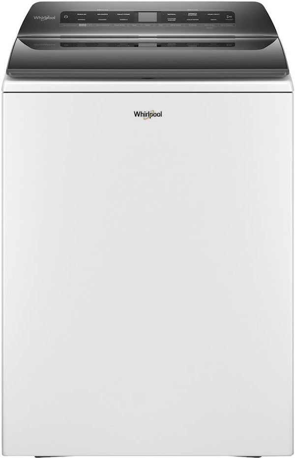 Whirlpool - 4.8 Cu. Ft. 36-Cycle Top Load Washer with Load & Go Dispenser and Smart Capable - White