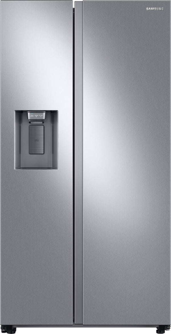 Samsung - 27.4 Cu. Ft. Side-by-Side Refrigerator - Stainless steel