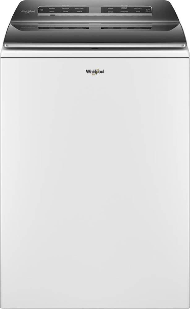 Whirlpool - 5.3 Cu. Ft. 36-Cycle Top-Load Washer with Load & Go Dispenser and Smart Capable - White