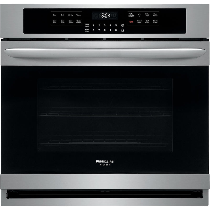 "Frigidaire - Gallery Series 30"" Built-In Single Electric Air Fry Oven - Stainless steel"