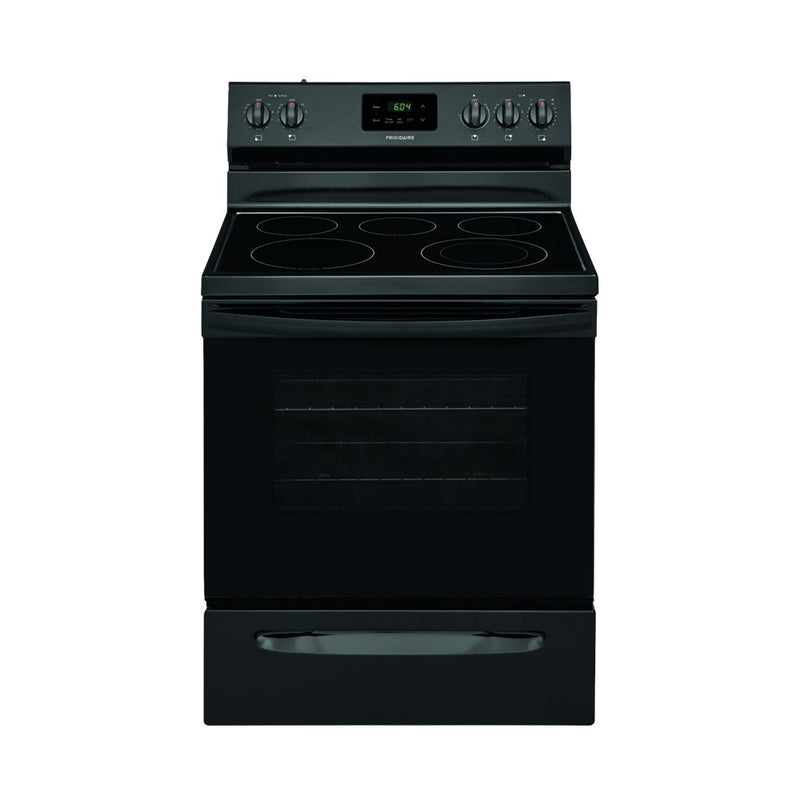 Frigidaire - 5.3 Cu. Ft. Freestanding Electric Range - Black
