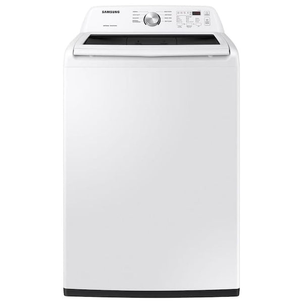 Samsung - 4.5 Cu. Ft. High Efficiency Top Load Washer with 10 Cycles and Active WaterJet - White
