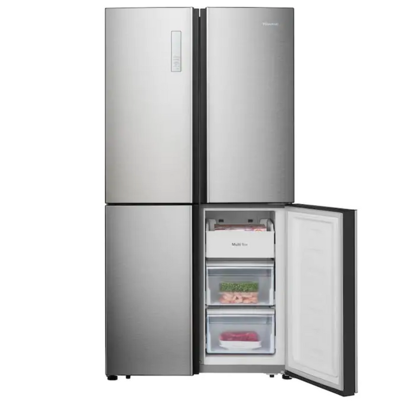 Hisense - 20 cu. ft. French Door Refrigerator - Stainless steel