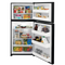 Frigidaire - 18.3 cu. ft. Top Freezer Refrigerator - Black