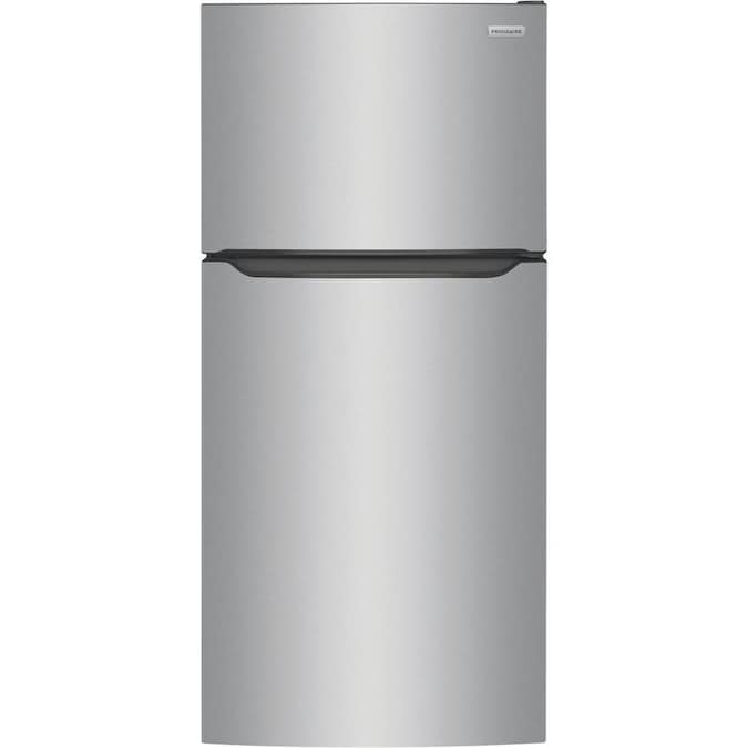 Frigidaire - 18.3-cu ft Top-Freezer Refrigerator - Easycare Stainless Steel