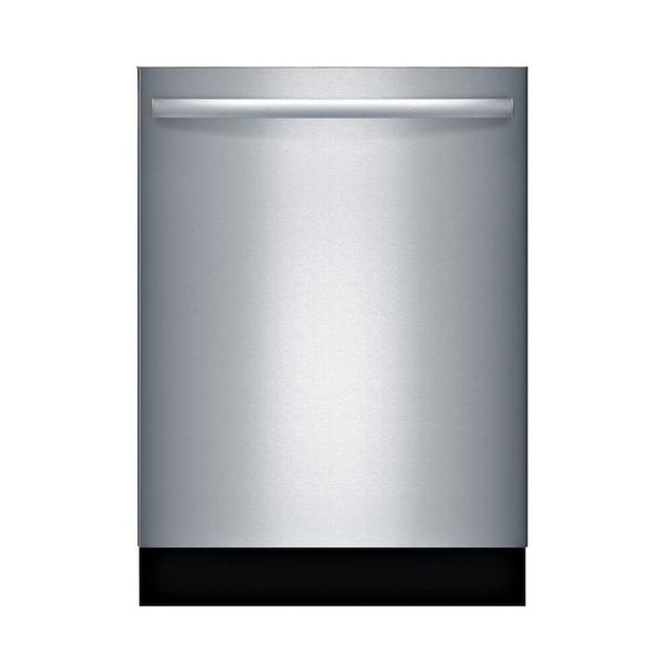 Bosch - 100 Series PureDry 48-Decibel Top Control 24-in Built-In Dishwasher - Fingerprint-Resistant Stainless Steel