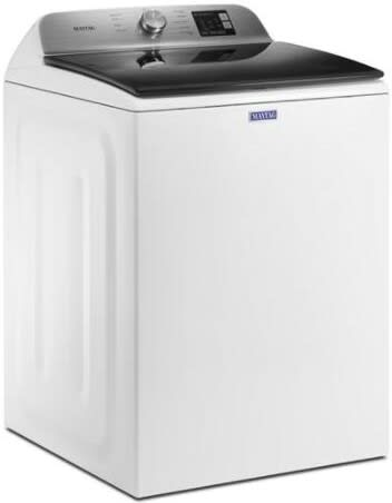 Maytag - 4.8 Cu. Ft. Top Load Washer with Deep Fill - White