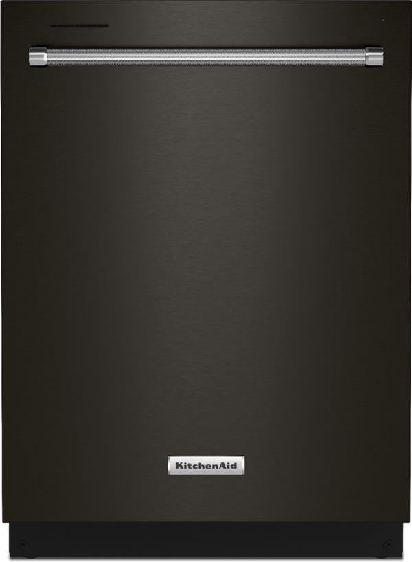 KitchenAid - Top Control Built-In Dishwasher with Stainless Steel Tub, FreeFlex™ 3rd Rack, 44dBA - Black Stainless Steel With PrintShield Finish