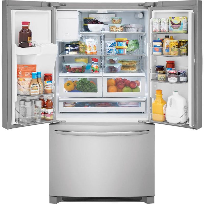 Frigidaire - 21.7 cu. ft. French Door Refrigerator - Stainless Steel