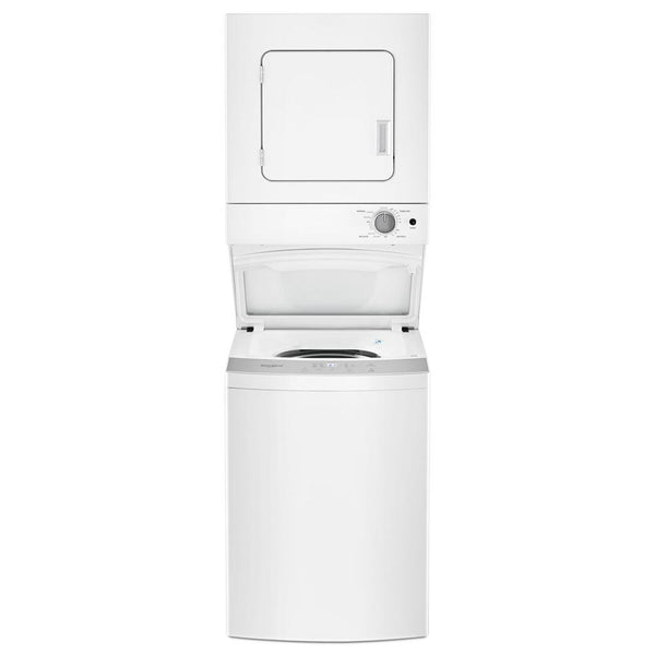 Whirlpool - 1.6 cu. ft. White All-in-One Vented Electric Washer Dryer Combo with 6-Wash Cycles and Wrinkle Shield - White