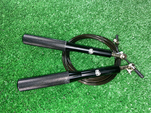 Black Adjustable Jump Rope