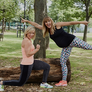 Looking to remain active during pregnancy? Pip Black & Joan Murphy talk 'Mumhood'