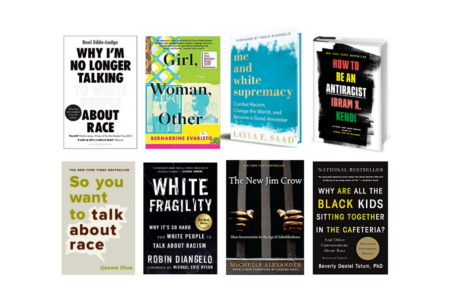 8 books about racism - Hey! Holla