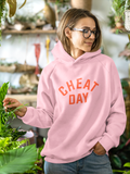 CHEAT DAY Pink Hoodie - Christmas Edition Pink/Red - Hey! Holla