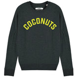 COCONUTS | Organic Cotton Blend Dark Grey Sweatshirt - Hey! Holla