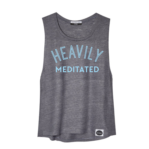 HEAVILY MEDITATED Drop Armhole Tank - Hey! Holla