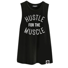 PRE ORDER  |  HUSTLE FOR THE MUSCLE | Drop Armhole Tank - Hey! Holla