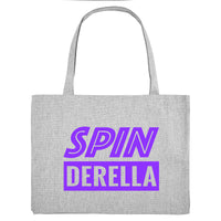 SPINDERELLA, grey gym bag. Made from 100% recycled material. - Hey! Holla