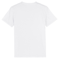 BE THE CHANGE  | 100% Organic Cotton White Slogan T-Shirt, large print - Hey! Holla