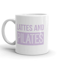 Lattes and Pilates | Slogan Mug - Hey! Holla