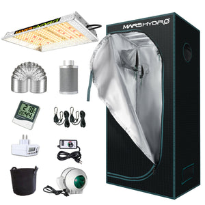 mars hydro 1000w grow kit