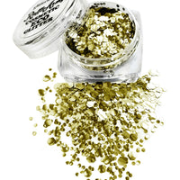 Glorious GOLD ECO glitter mix SPARKLE