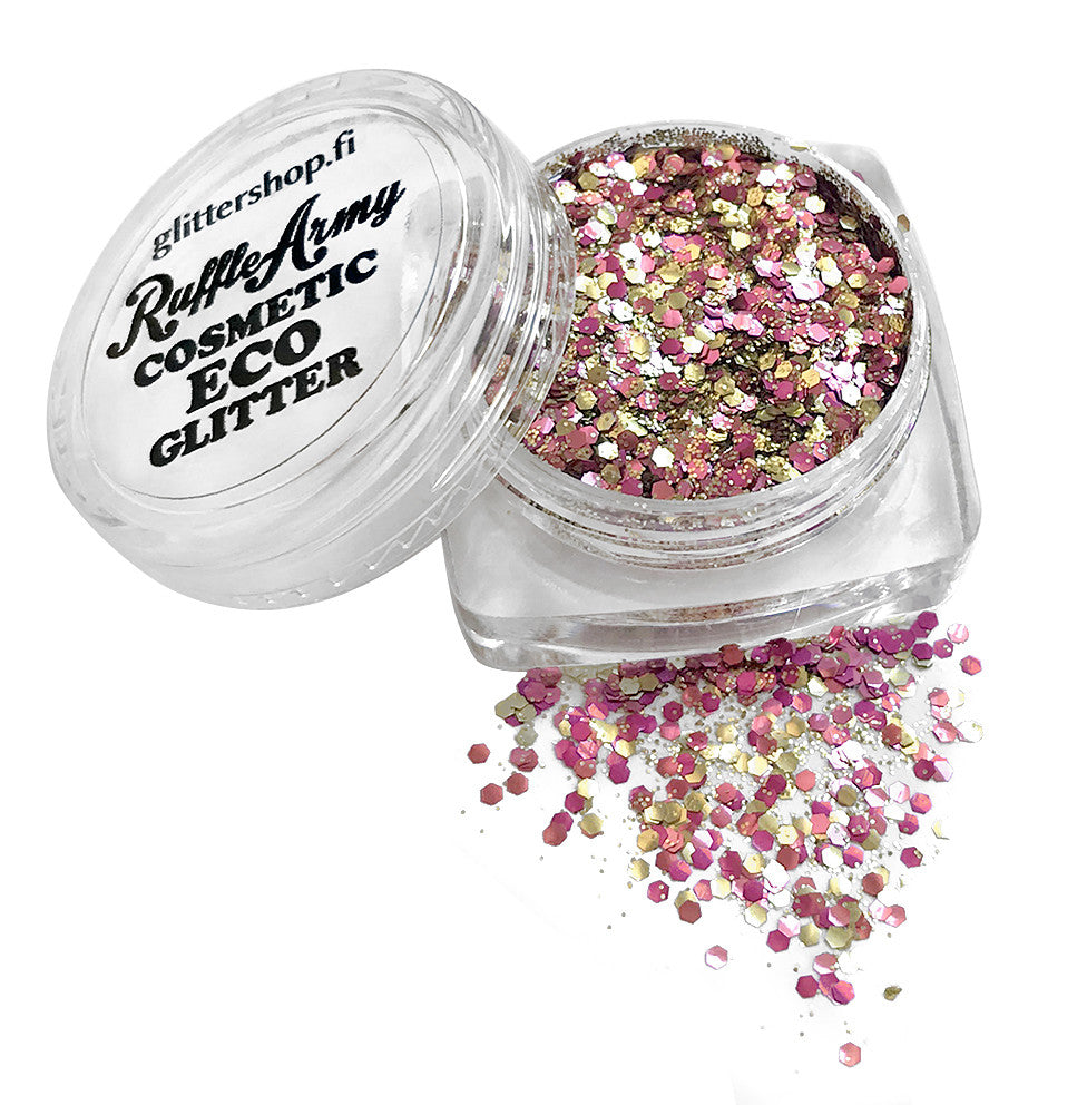 Strawberry Daydreams ECO glitter mix SPARKLE