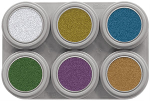 Grimas Water Make-up 6kpl paletti Metallic