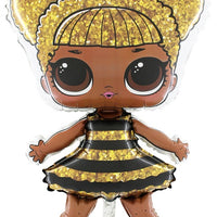 LOL Suprise Diva Queen Bee -foliopallo täytetty