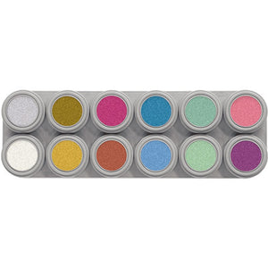 Grimas Water Make-up 12kpl paletti Pearl
