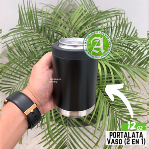 Portalata / Vaso (2 en 1) 12oz / 354ml My Drink