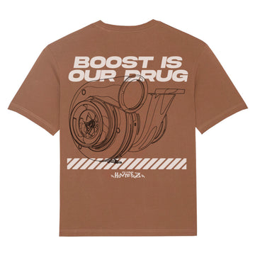 Boost is our Drug Organic Oversize T-Shirt