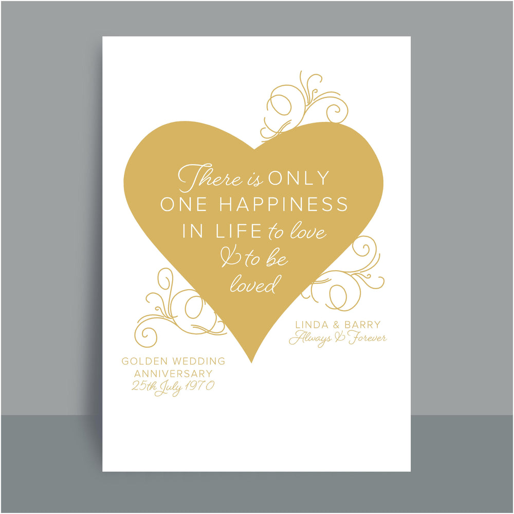 A4/A3 Personalised Prints | Heart quotes