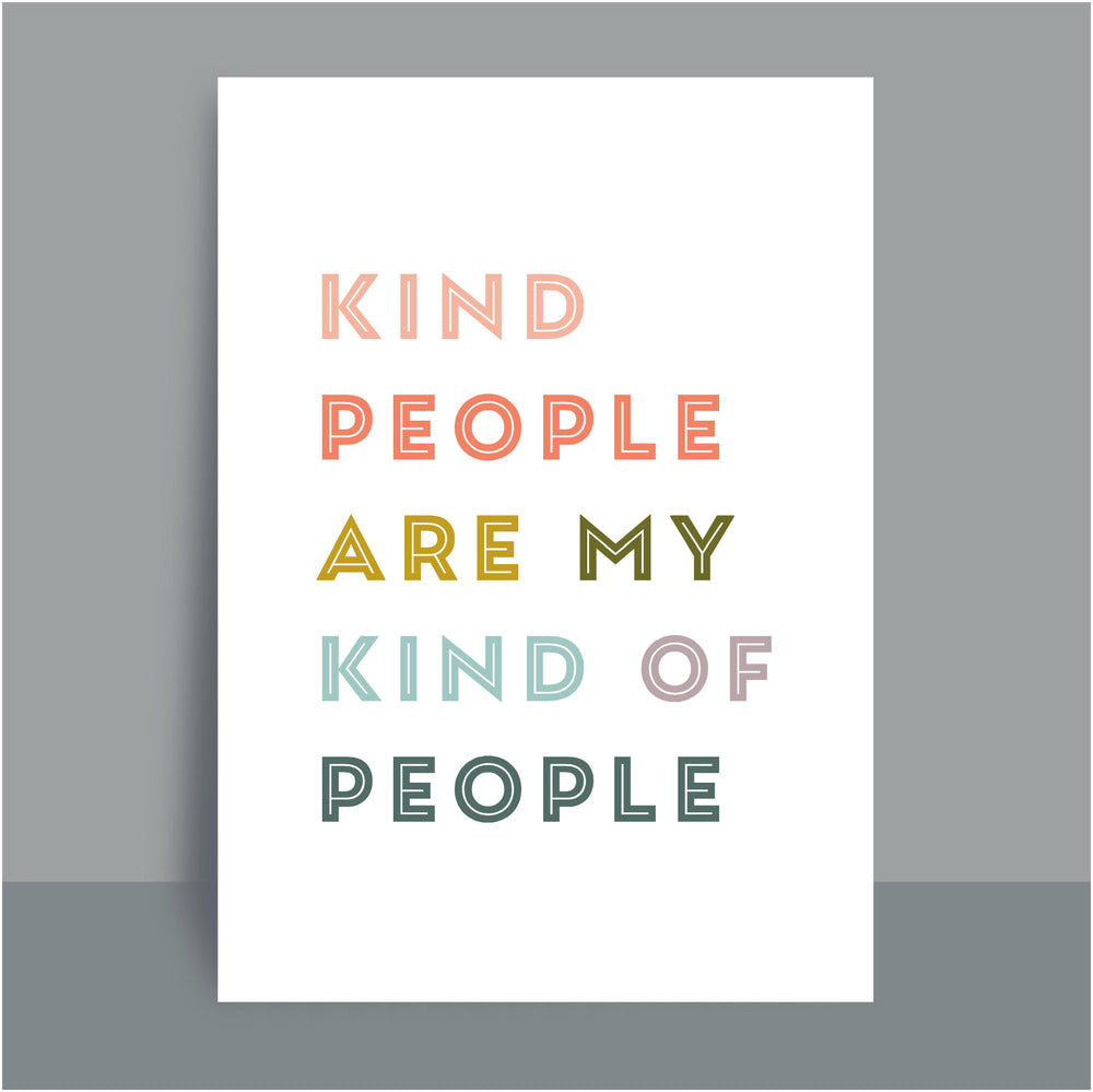 A4/A3 Prints | Kind people