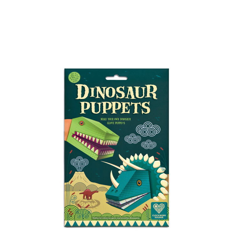 Children's | Create your own Dinosaur puppets