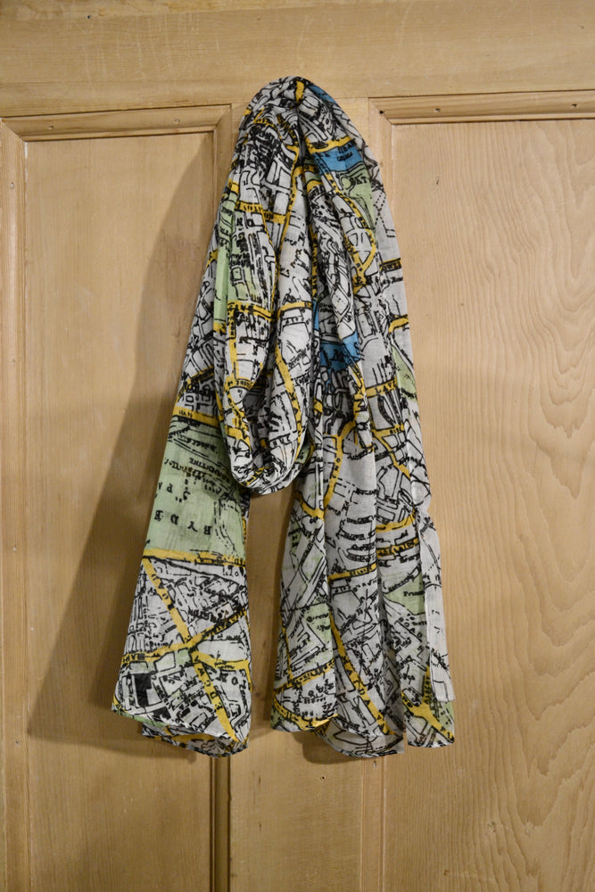 Scarves | London map