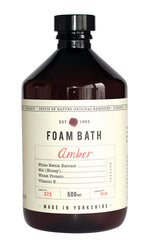 Toiletries | Foam bath Amber