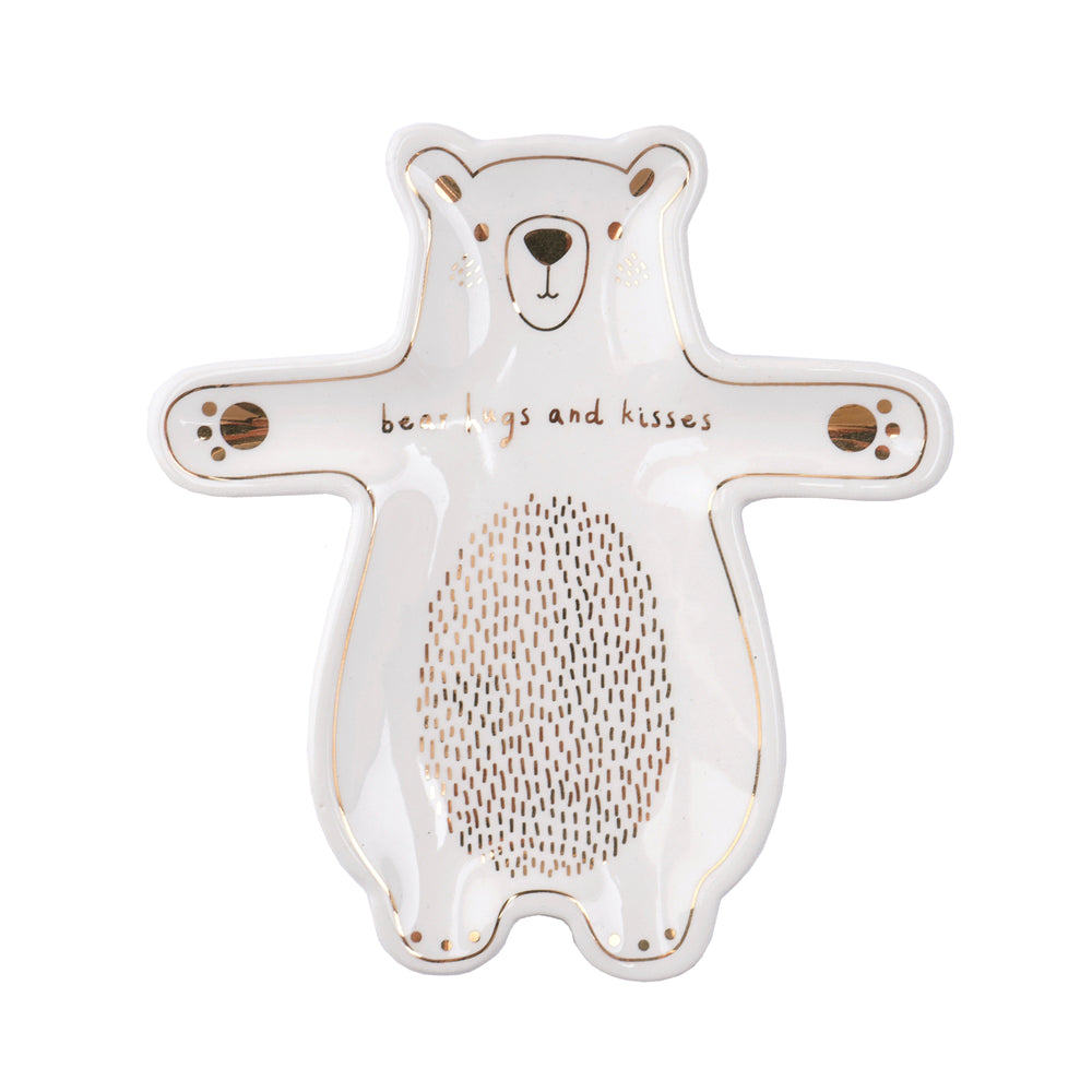 Gifts | Bear hugs and kisses trinket dish